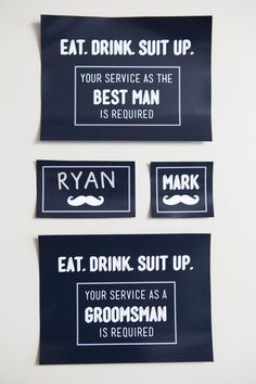 """You have to see our latest """"Will You be my Bridesmaid"""" idea! Groomsmen Invitation, Groomsmen Proposal, Wedding Invitations, Be My Groomsman, Groom And Groomsmen, Groomsman Gifts, Wedding Prep, Diy Wedding, Wedding Ideas"""