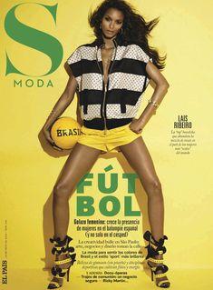LAIS RIBEIRO    S MODA MAGAZINE MAY 2014 COVER PHOTOGRAPHED BY JONAS BRESNAN