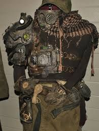 Image result for post apocalyptic costume back