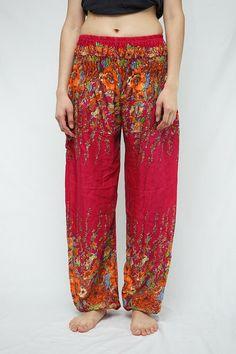 Thai Harem Pants / Yoga Pants / Comfy Pants / by Aladdinjasmine