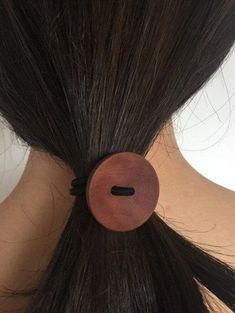 28727ccd01a 2018 New Hot Item Simple Wood Elastic Hair Tie Rope Band Women Accessories   fashion