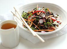 Black Rice Sesame Salad Recipe on Yummly