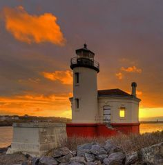 Coquille River Lighthouse: Bandon, Oregon