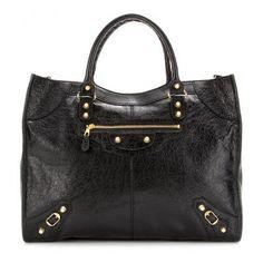 Balenciaga - Giant Monday leather tote #accessories #balenciaga #women #covetme