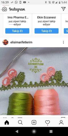 Crochet Lace Edging, Filet Crochet, Crochet Hooks, Knit Crochet, Saree Tassels Designs, Embroidered Clothes, Needle Lace, Baby Knitting Patterns, Knitting Socks