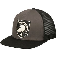 Army Black Knights Top of the World Junction Adjustable Snapback Hat - Charcoal/Black - $22.39