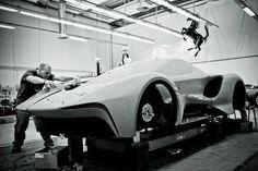 Ferrari LaFerrari: Clay modeling