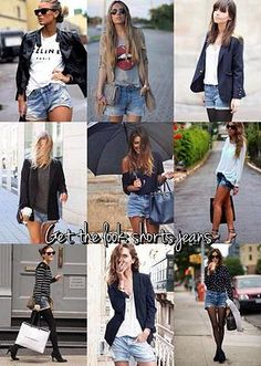 fashiontrademoda | Get the look: Shorts Jeans