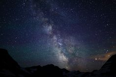 The Milky Way Over Hidden Lake by jeremyjonkman, via Flickr
