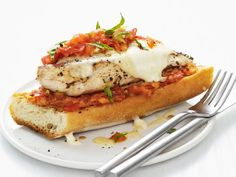 I really need a grill - grilled chicken parm