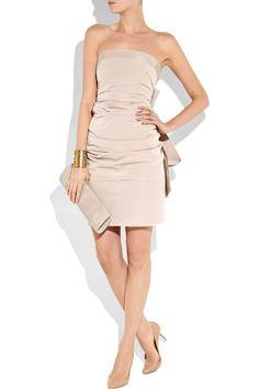 Glamorous sleeveless A-line dress $184.00
