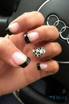 Cheetah nails  | See more nail designs at http://www.nailsss.com/nail-styles-2014/2/