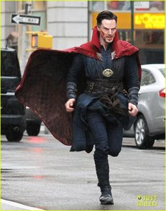 Benedict Cumberbatch Films 'Doctor Strange' in NYC - First Pics!: Photo #3620265. Benedict Cumberbatch runs down the street while filming an action scene for his upcoming Marvel movie Doctor Strange on Saturday (April 2) in New York City.    The…
