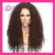 Find More Wigs Information about GQ!!! cheap!Brazilian human hair afro wigs 150 180 density kinky curly wig brown color full lace human hair wigs for black women,High Quality Wigs from Glamour Fashion Hair CO.,LTD on Aliexpress.com
