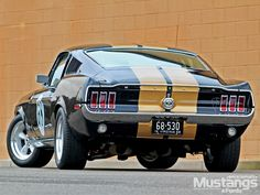 1968 Ford Mustang Fastback.