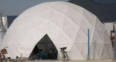 i propose: one hexayurt bedroom one geod… | Camp Help But Notice