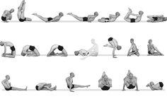 39 best yoga vinyasa  sun salutations images on pinterest