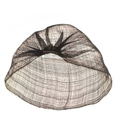 Elegant structured woven black straw hats designed by Elvis Pompilio, can be worn as a veil.  Made in Belgium.       More...   Ida Buckle ...