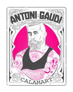 Antoni Gaudí • Il·lustres il·lustrats