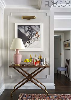 Emmy Rossum NY Apartment Elle Decor