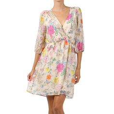 I need this to wear for Mother's Day! Garden Dress, Easter Dress, Pretty Lingerie, Affordable Clothes, Wrap Dress, Maternity, Bloom, Fancy, My Style