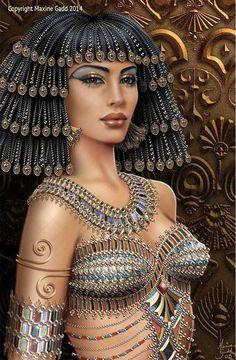 f Cleric Med Armor Temple urban City Divas Maxine Gadd published fairy fantasy artist Egyptian Fashion, Egyptian Beauty, Egyptian Goddess, Egyptian Art, Egyptian Queen, Egyptian Jewelry, Ancient Egyptian Costume, Ancient Egypt Art, Ancient Aliens