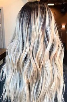 60 Most Popular Ideas for Blonde Ombre Hair Color Here are adorable blonde ombre hair styles in different tones: from ash to black to bold colorful locks! Get ready to make a statement with these fresh new ombre hairstyles!http://glaminati.com/ideas-for-blonde-ombre-hair/