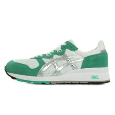 new style f6ce6 c12e1 Asics GEL EPIRUS Chaussures Mode Sneakers Homme Vert Blanc