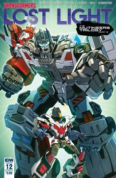 Lost Light Issue #12 Full Comic Preview - The Mutineers Trilogy Part 3