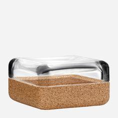 Iittala - Tuotteet - Sisustaminen - Vitriini - 108 x 108 mm kirkas / korkki