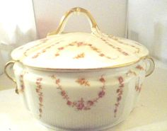 Elite Limoges Covered Casserole / Vegetable Dish by Auntiemollys