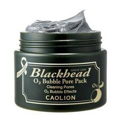Caolion Blackhead O2 Bubble Pore Pack - 50g - Peach & Lily | $26