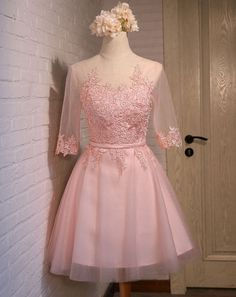 Pink Homecoming Dress, Lace Up Homecoming Dress, Junior Homecoming Dress, Fantastic Homecoming Dress, Charming Homecoming Dress