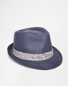ted baker straw trilby  beige #hat #brimmedhat #accessories #covetme