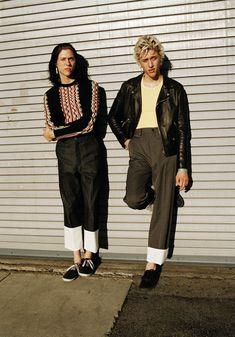 Wyatt and Fletcher Shears of The Garden by Lasse Dearman styled by Lotta Volkova Adam for Man About Town