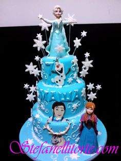 - Disney Frozen cake