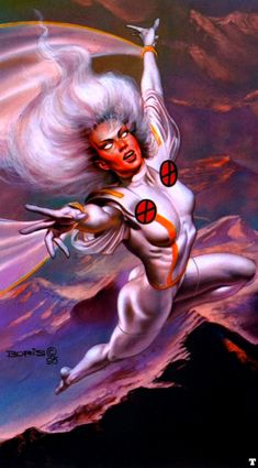 Storm by Boris Vallejo