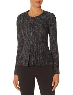 Scandal Olivia Pope collection - The Limited - Tweed Peplum Jacket