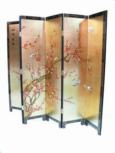 Cherry Blossom Screen Bedroom Pinterest Cherry Blossoms - Cherry blossom room divider screen