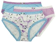 20  Flamingo 3-pack clearance for teen girls Esme Junior Panty M