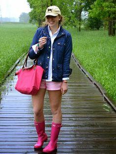 Rainboots in Summer