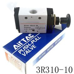 16.00$  Watch now - http://aligkv.shopchina.info/1/go.php?t=32814647306 - High quality Pneumatic 2 position 3 way air hand pull valve 3R310-10 Port 3/8 inch Manual flow control valve 16.00$ #bestbuy
