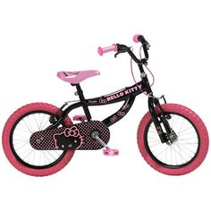 "16"" Hello Kitty Bike"