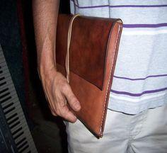 Leather Document Case Folio Attache... Full by BayTowneLeatherUSA
