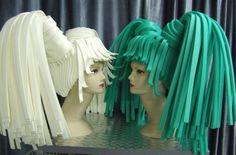 Modellen Workshop 2013 | Marion Hoop Design Costume Hats, Costume Makeup, Costume Ideas, Headdress, Headpiece, Corsets, Samba, Foam Wigs, Shave My Head