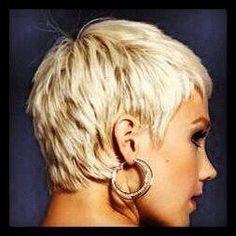 Blonde Pixie Haircut, Short Choppy Hair, Short Pixie Haircuts, Pixie Hairstyles, Cool Hairstyles, Braided Hairstyles, Pelo Pixie, Corte Y Color, Edgy Hair