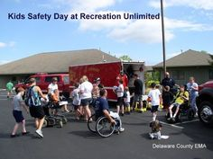 Recreation Unlimited is one of the many events we participate in each year, and it is a wonderful event.