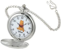 Disney W000460 Winnie The Pooh Pocket Watch