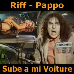 Acordes D Canciones: Riff - Pappo - Sube a mi Voiture