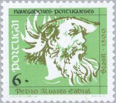 Stamp: Pedro Alvares Cabral (Portugal) (Navigators) Mi:PT 1907,Sn:PT 1843,Afi:PT 2061
